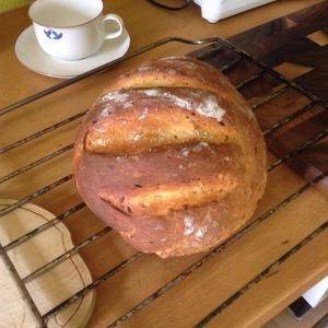 Das gebackene Brot